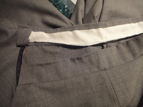 Couture technique waistband