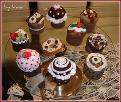 Uma festa de cupcakes by Eliete *tudo.com.fuxicos*