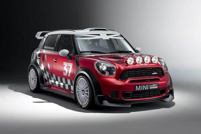 MINI WRC front 3Q
