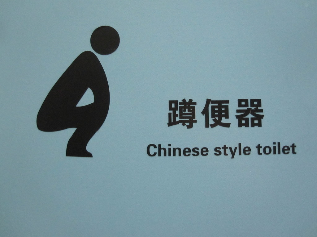 Chinese Style Toilet