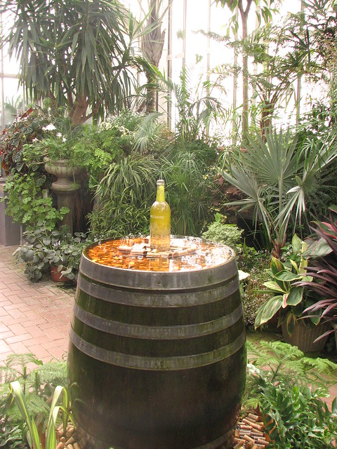 wine bottle fountain flickr photo sharing