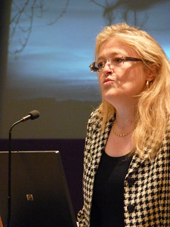 Laura Sandys at the international climate change conference