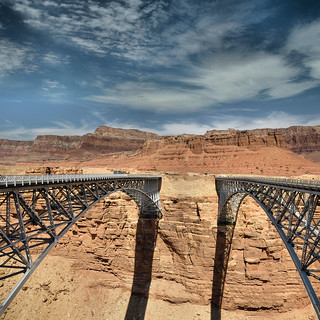 2 Colorado Bridge@Marble Canyon   -  Explore