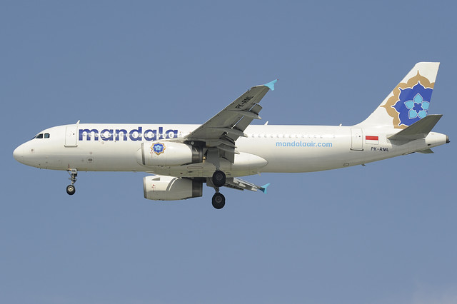 Mandala Airlines Airbus A320 (PK-RML) DSC8207