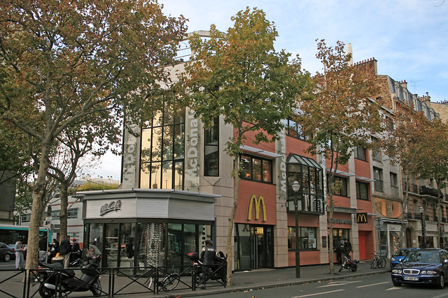 Mcdonald 39 s boulogne france flickr photo sharing - Metro marcel sembat boulogne ...