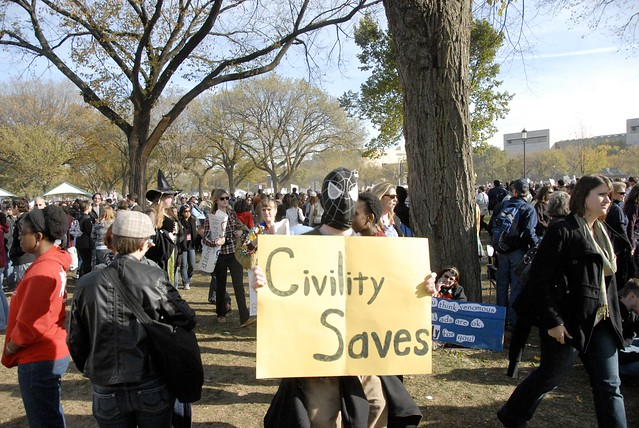 Civility Saves
