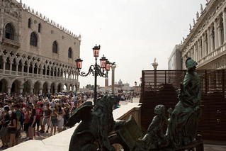 Image of Piazzetta San Marco near Venice. italy campanile palazzo venezia sanmarco dogi piazzetta