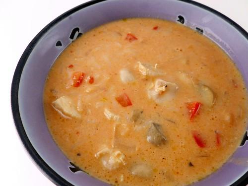 Kacey's Kitchen: Wicked Thai Chicken Soup