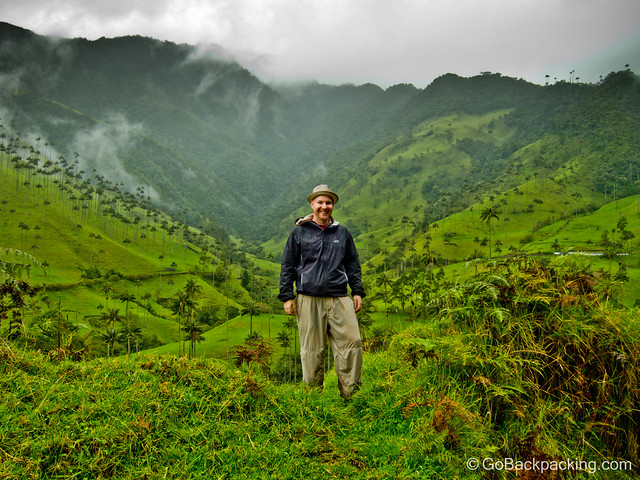 Amidst the wax palms of the Valle de Cocora, one of my favorite places in Colombia