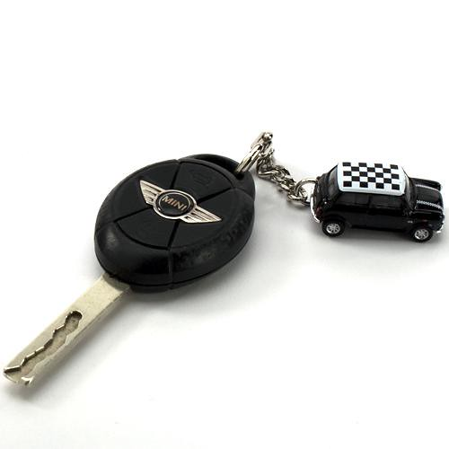Mini Cooper Key Chain and Garage | Flickr - Photo Sharing!