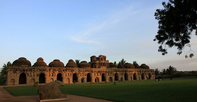 royal center hampi elephant stables