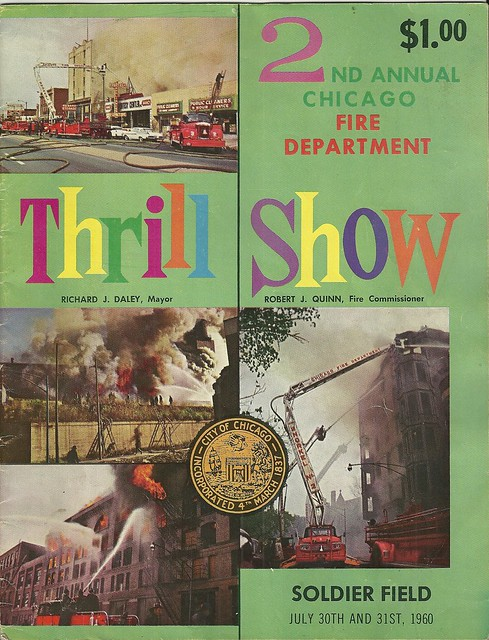 2nd Annual Chicago Fire Department Thrill Show