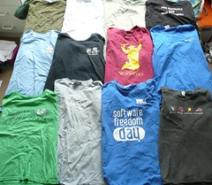 Geek t-shirts I have known and loved
