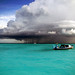 Storm at Baa Atoll Maldives