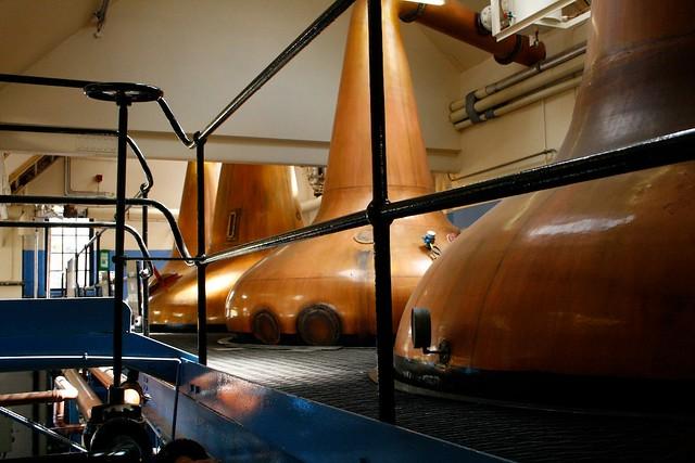Grenmoray Distillery Stills
