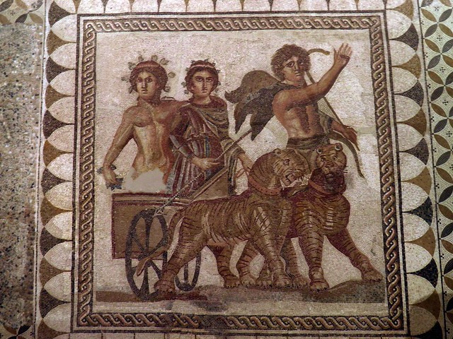 Mosaic of the Triumph of Bacchus, Museum of Archeology, Seville
