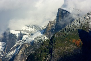 Half Dome 11-8-10 first snow