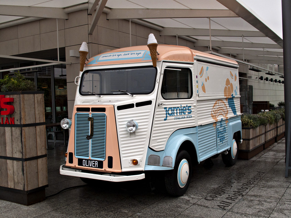 Jamie's Ice Cream Van