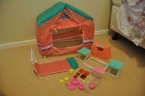 Barbie Suncharm Western Fun Camping Playset