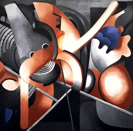 Picabia, Francis (1879-1953) - 1914 This Has to Do With Me (Museum of Modern Art, New York City)