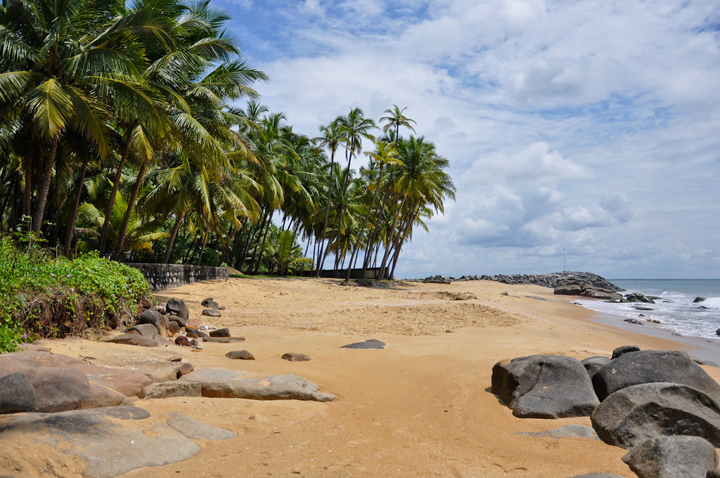 Scenic Beach of Ezhimala