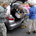Thanksgiving Meal Distribution at Fort Indiantown Gap
