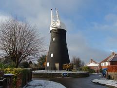 Holgate windmill - painting (8)