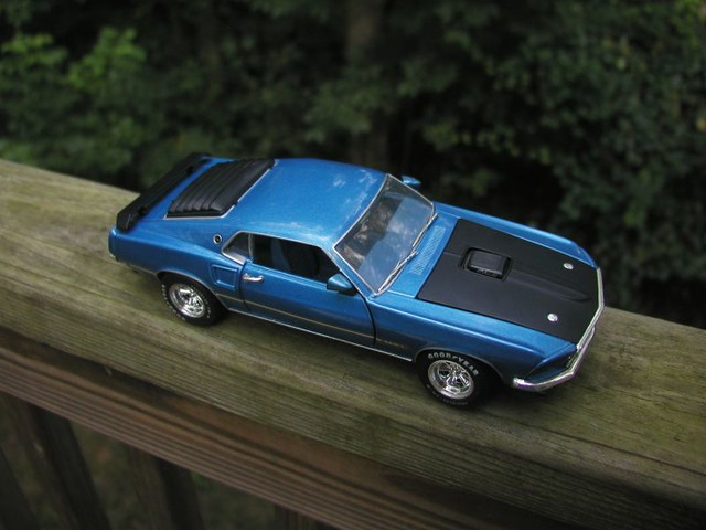 1968 Ford Mustang Mach 1 428 Cobra Jet Flickr Photo