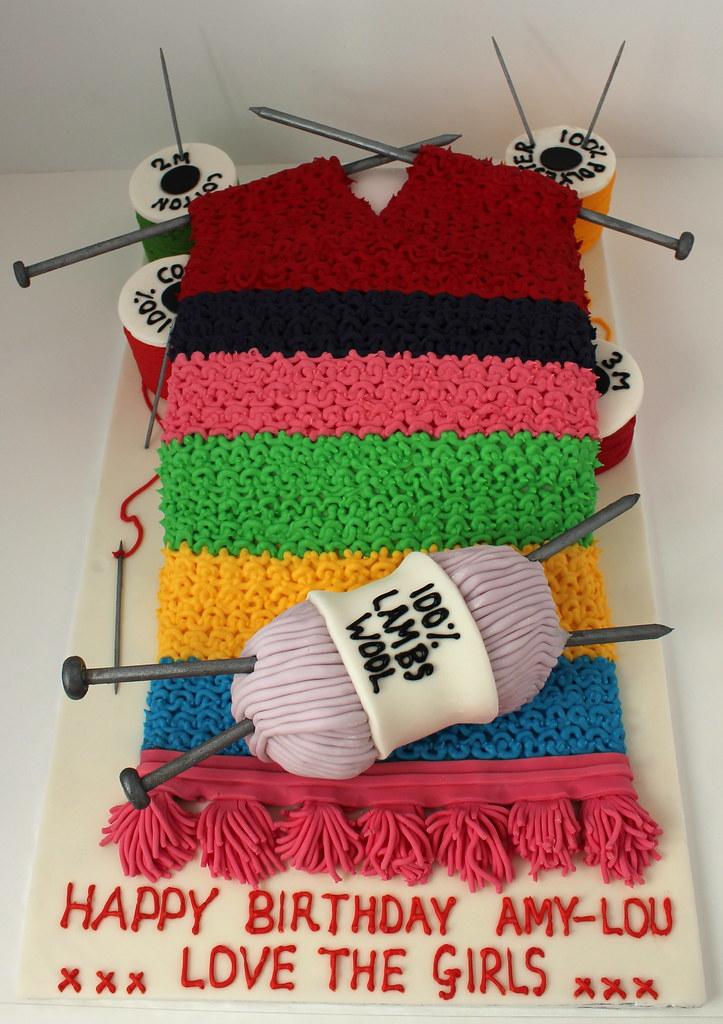 Knitting Birthday Cake Photos : Happy birthday cake knithacker