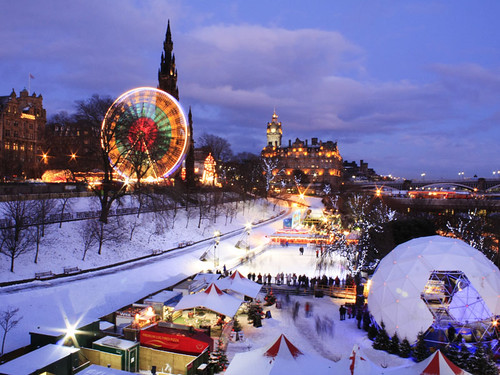 Ferris Wheel Edinburgh Christmas
