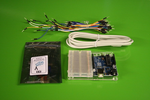 'Beginners Arduino & Physical Computing' Omniversity course components