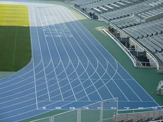 Olympic Stadium Barcelona Running Track