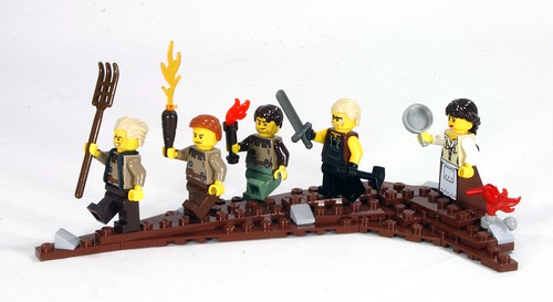 Angry peasant mob