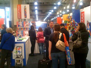 Boom Boom! Cards isle view at Toy Fair 2011. Lovin' the masses! #TF11