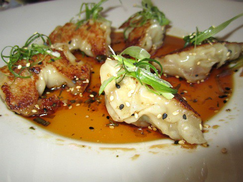 vday-chicken pot stickers | vday lunch @ the Cheesecake Fact ...