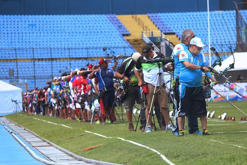 Penúltima jornada tiro con arco, Festival Deportivo