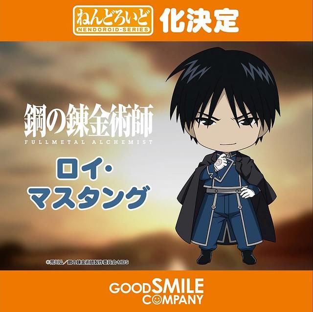 Good Smile Company 「黏土人系列」 《火影忍者》、《小魔女學園》、《鋼之鍊金術師》最新商品化角色公佈!