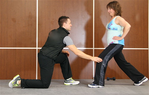Personal training for baby boomers