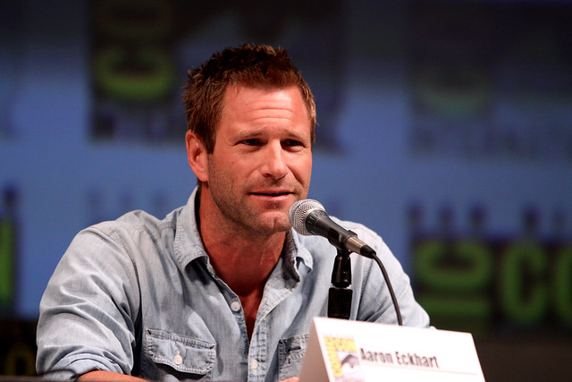 Header of Aaron Eckhart