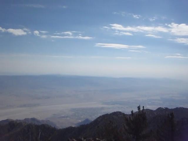304 Panorama video from Miller Peak Summit