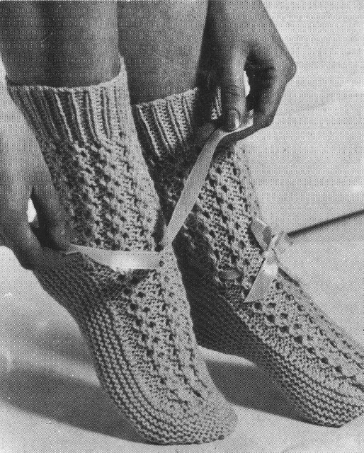 Free Crochet Pattern - Bed socks! - Crafts - Free Craft Patterns