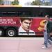 Shuttle bus ads