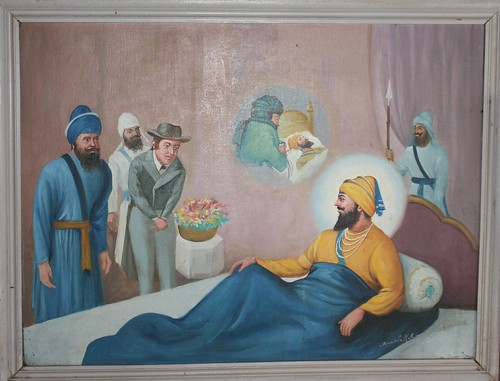 Guru Gobind Singh Real Photo Guru Gobind Singh ji Amp The