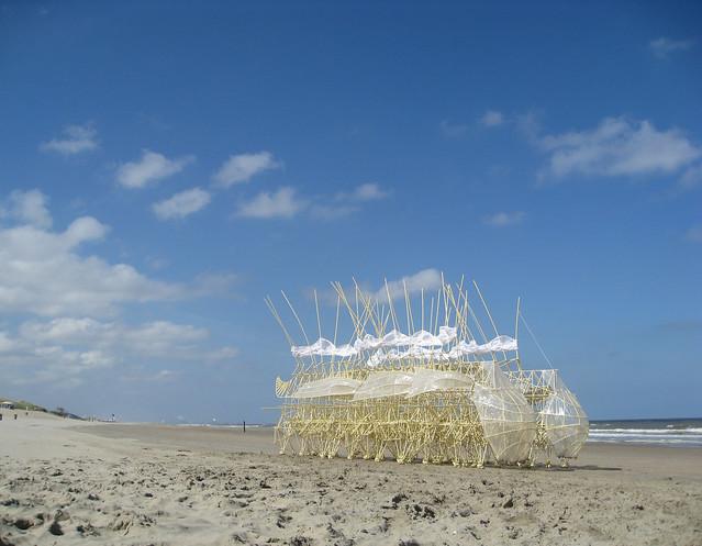 Strandbeest von Theo Jansen - zondag 13