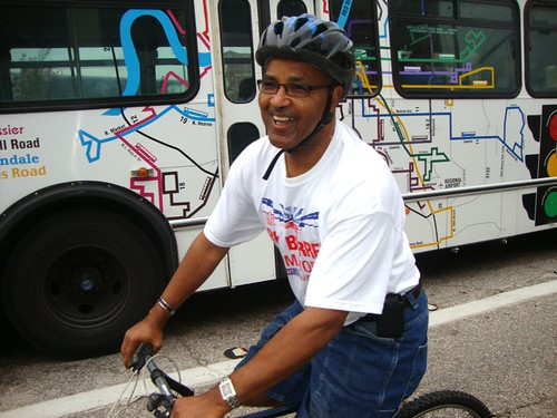 A Better Shreveport Candidates Bike Ride: Roy Burrell by trudeau