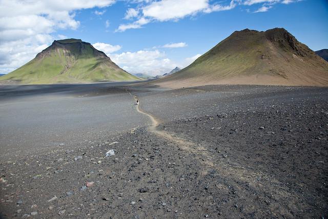 Volcanic plain