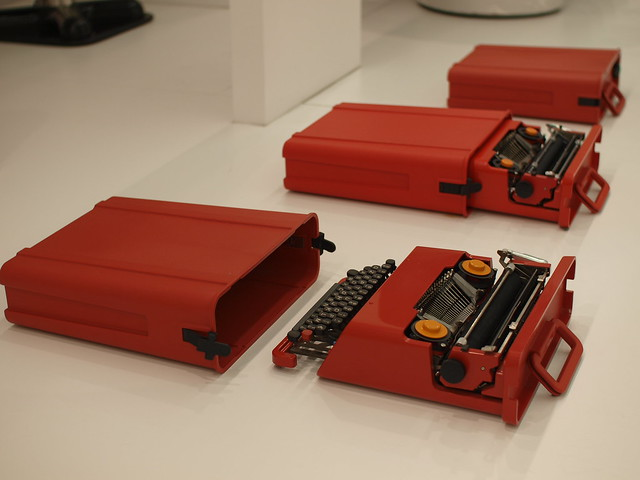 München :: Valentine Portable Typewriter by Ettore Sottsass and Perry King