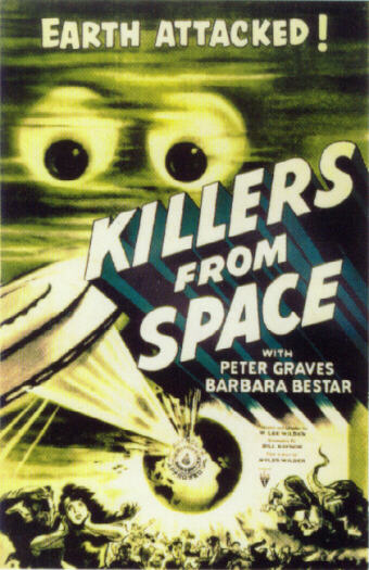 Killers From Space (Poster)