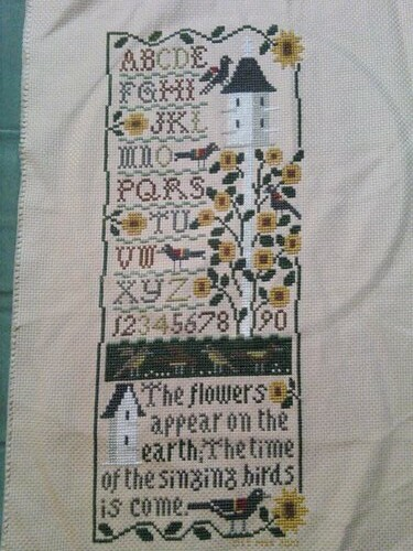 Garden Sampler - FINISHED!  9/5/10