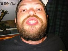 Beardy horseface.